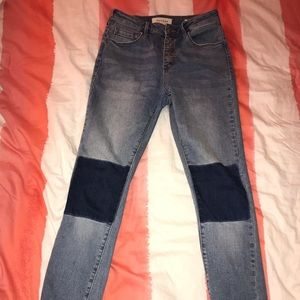Pacsun jeans with knee patches
